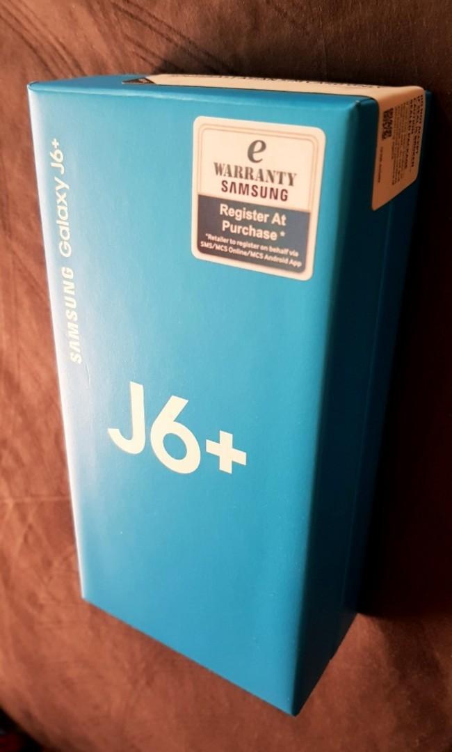 Samsung GALAXY J6+ #RayaPhone