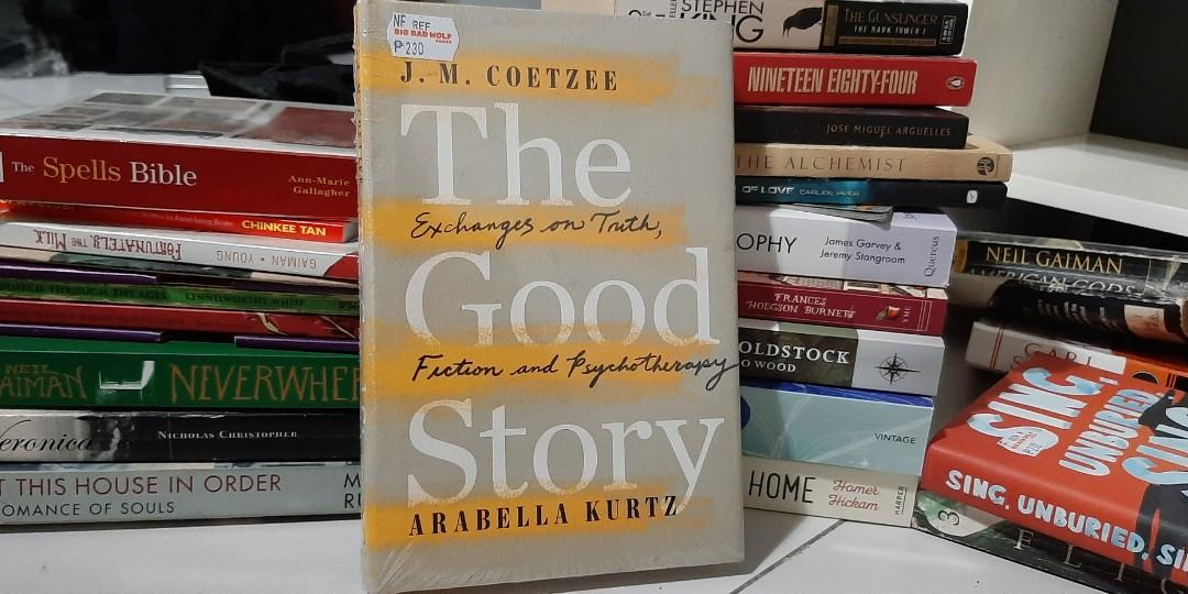 Self-help book: The Good Story: Exchanges on Truth, Fiction and Psychotherapy