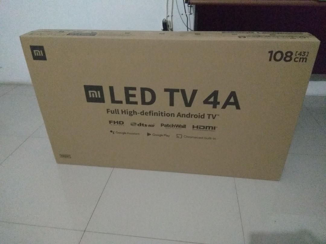 Smart tv 43in