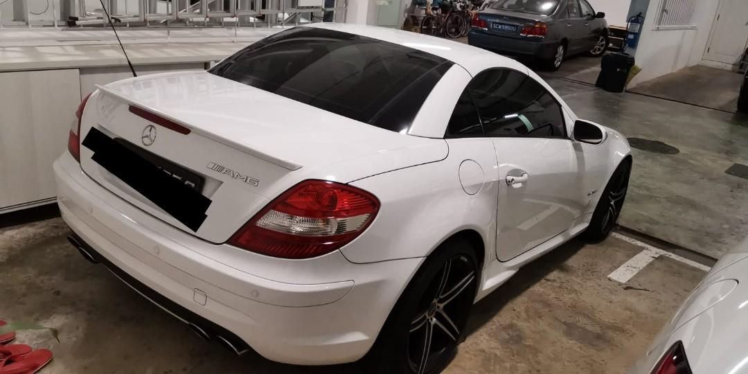 Mercedes SLK 200 For Lease