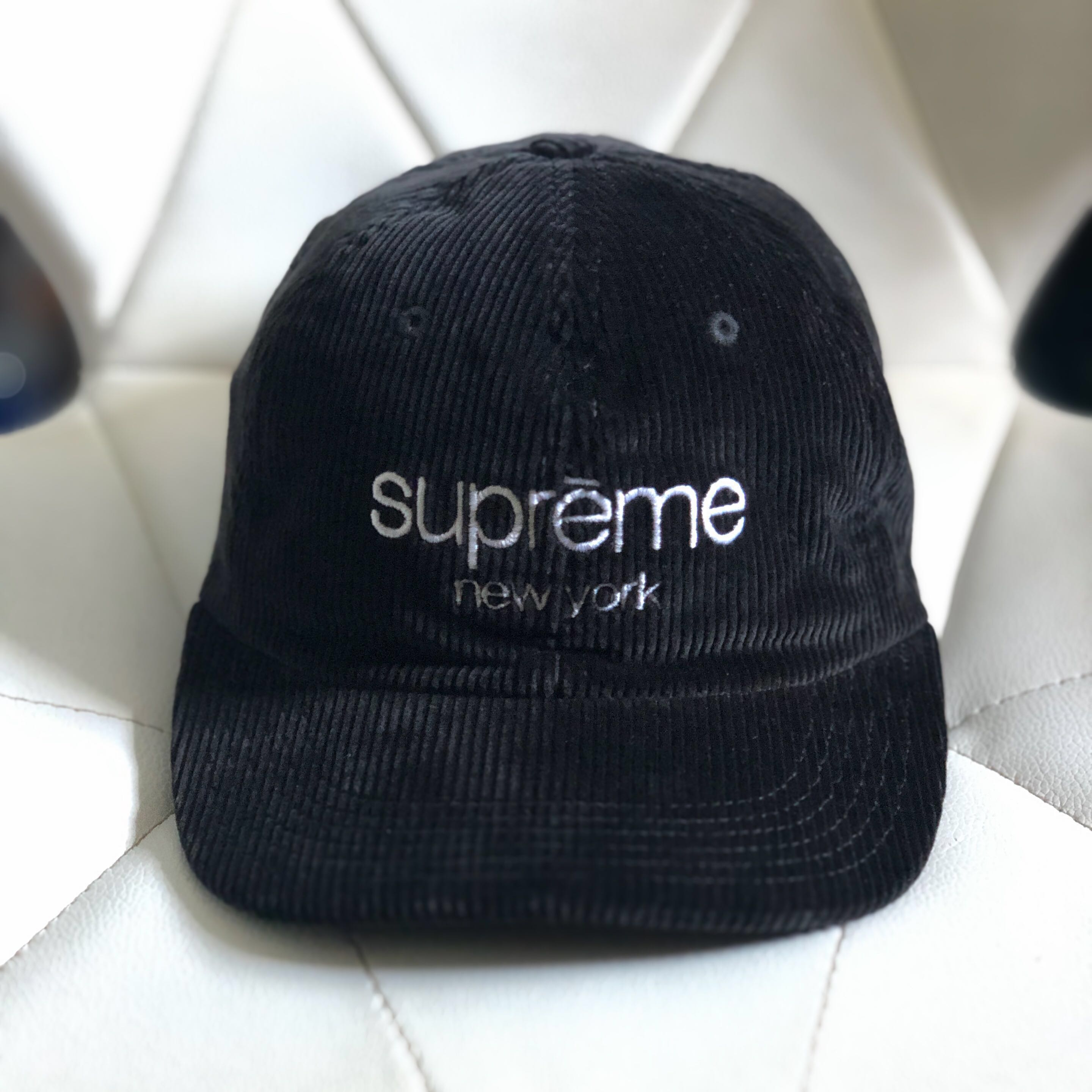e0e60359dd3682 SUPREME Classic Logo 6-Panel Cap SS15, Men's Fashion, Accessories ...