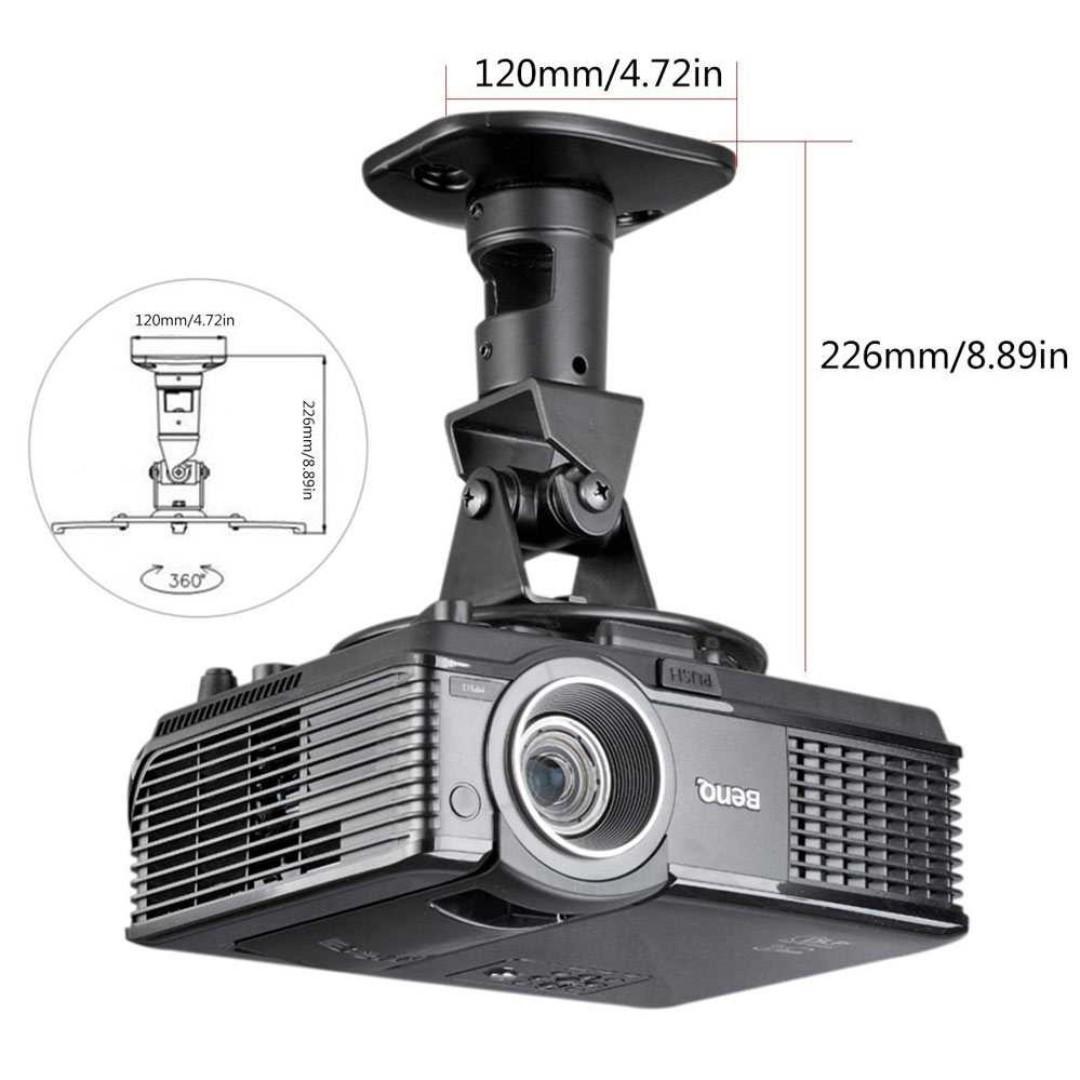 Suptek Bracket Proyektor 360 Derajat 13.6KG - PR01B titangadget