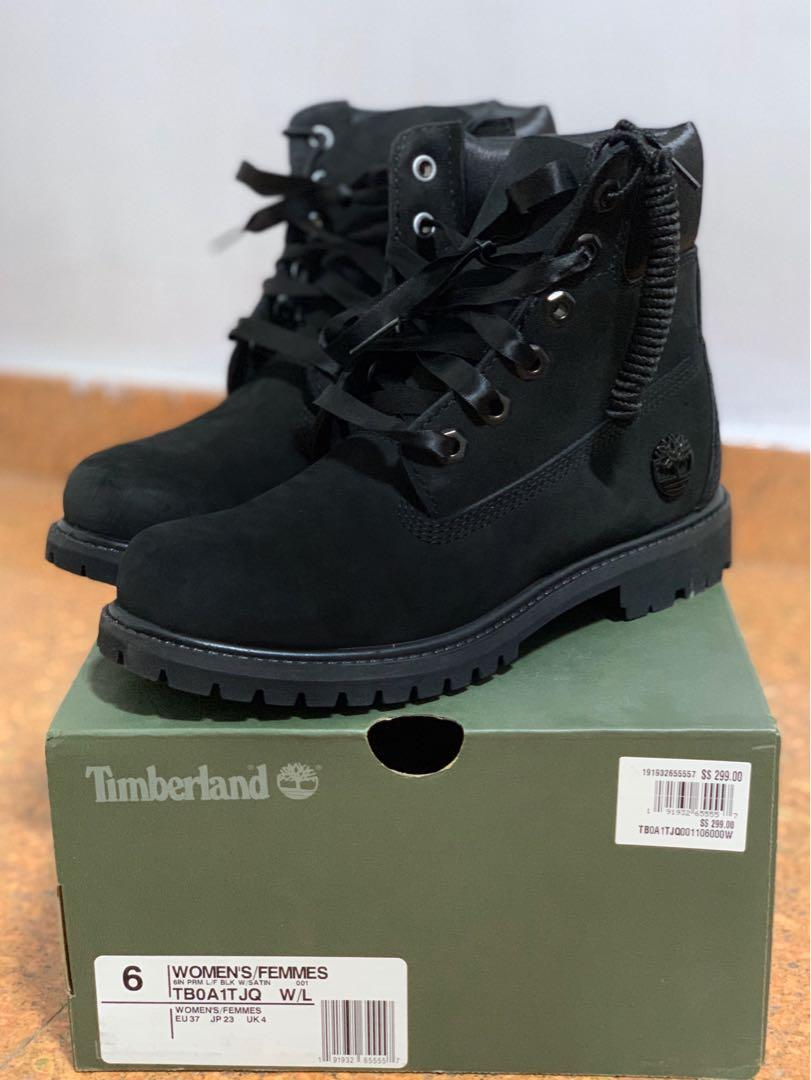 Timberland Black Color Boots