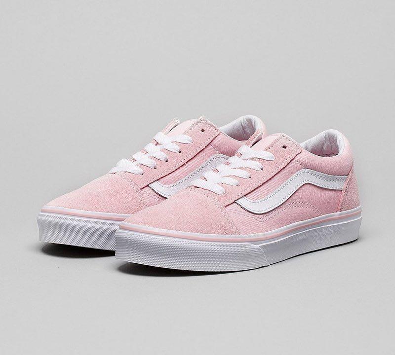 VANS OLD SKOOL Chalk Pink / White