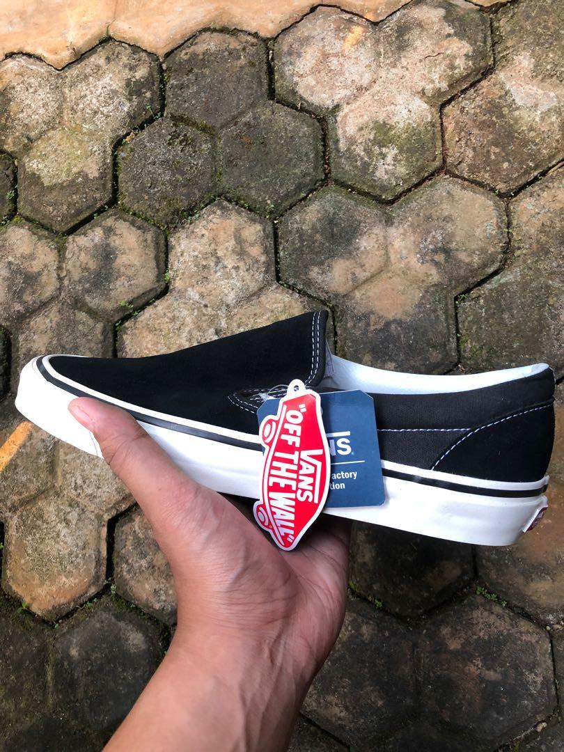 Vans Slip On Style 98 Anaheim Factory BW