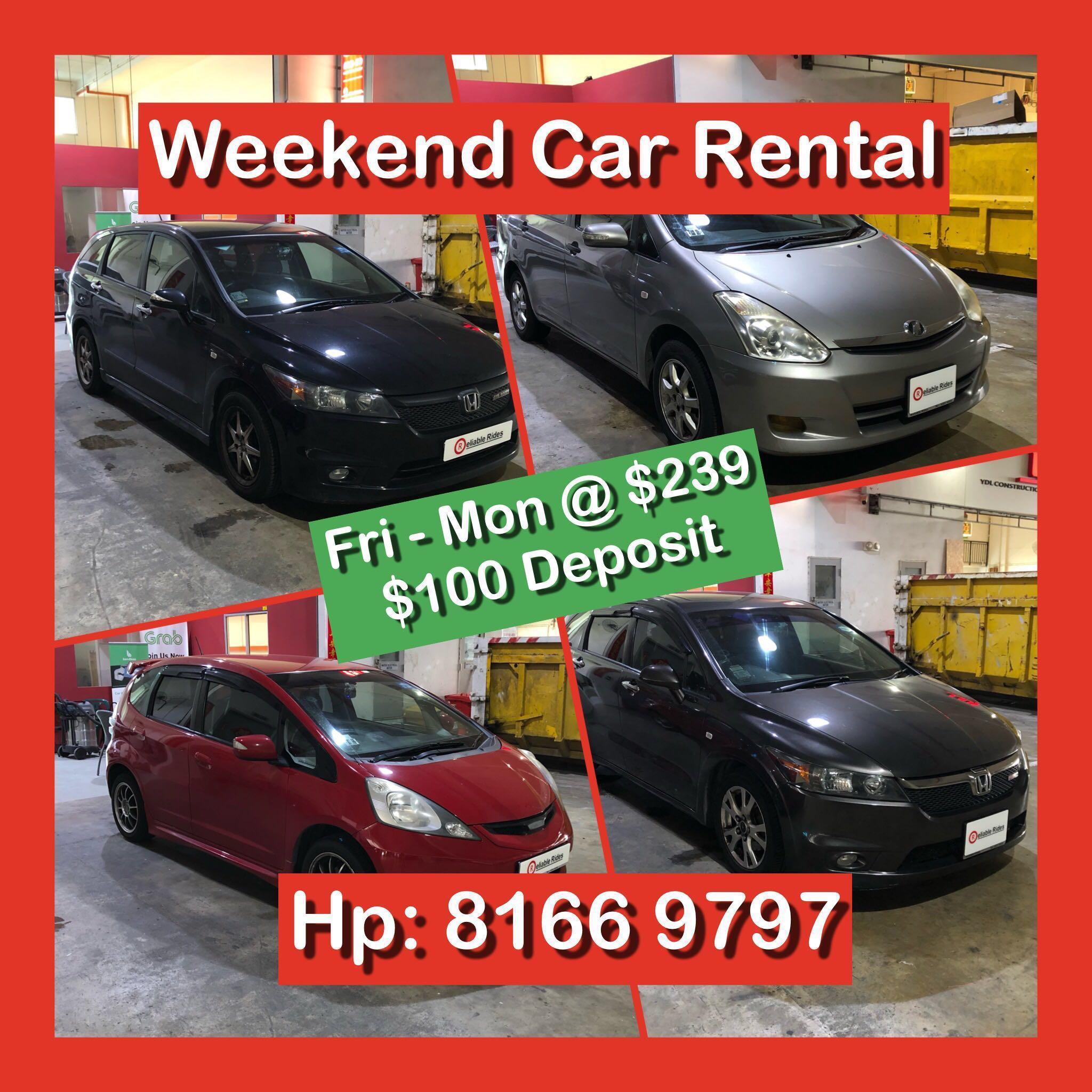 Weekend / Weekday Cheap Car Rental To Malaysia