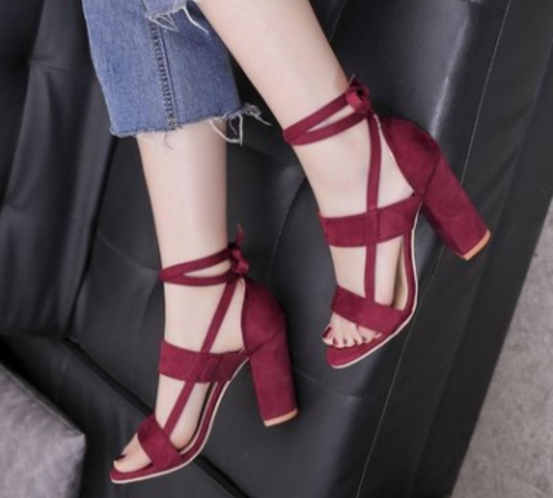 Wine Red Heels