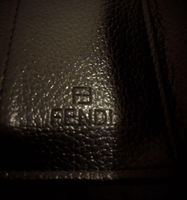 Womens black Fendi wallet