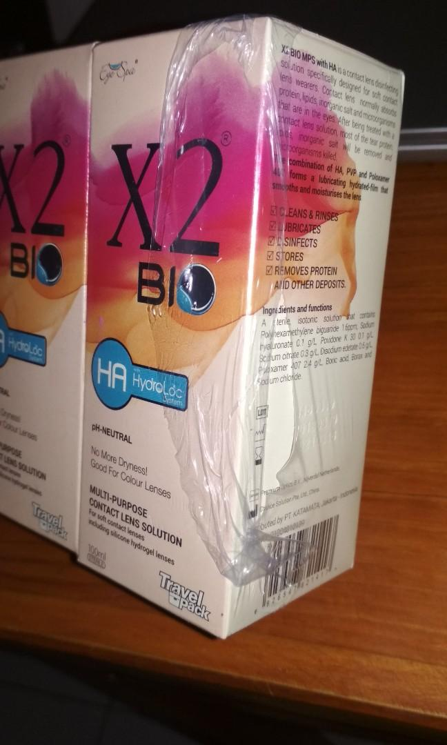X2 Bio Contact Lens Solution Air Softlens