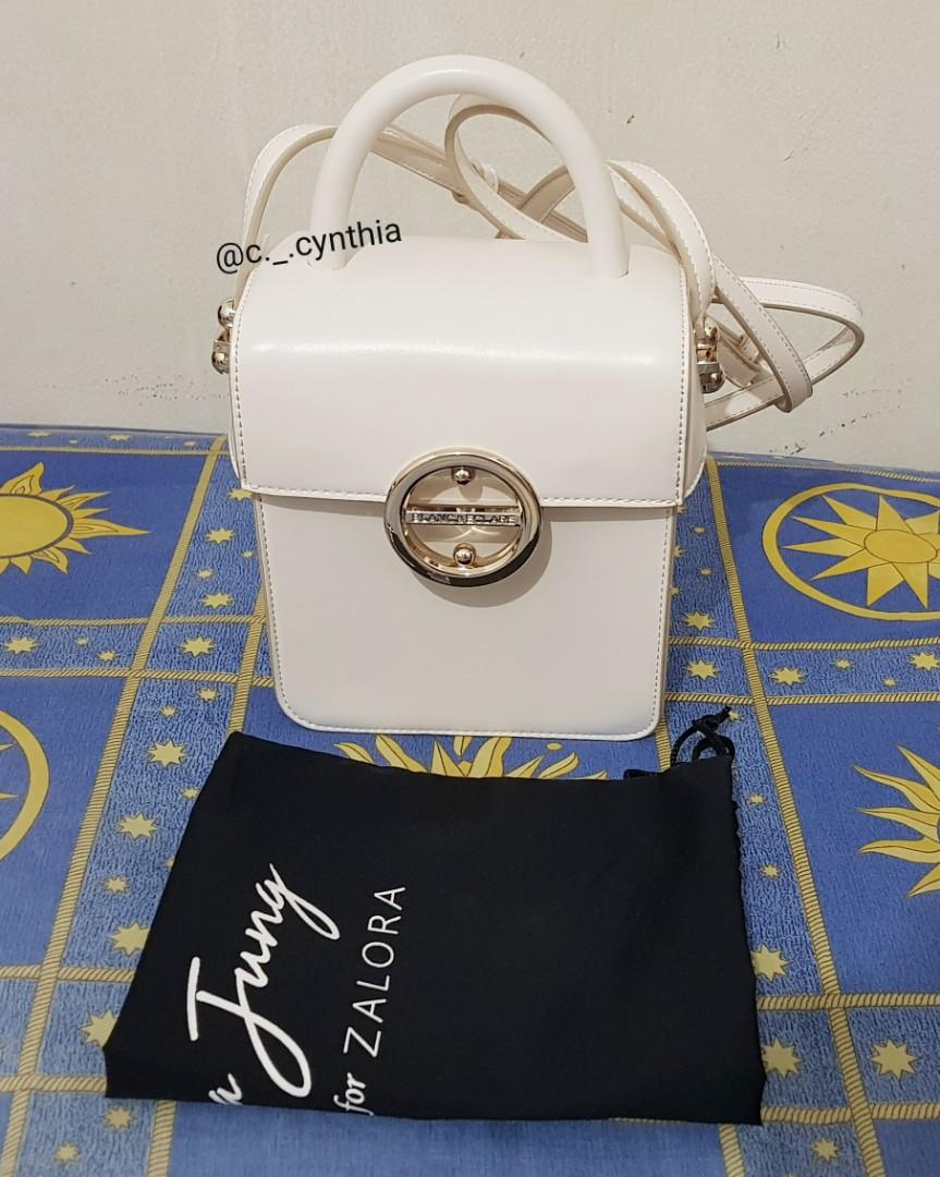 (SOLD) ZALORA X Blanc & Eclare by Jessica Jung Rosie bag (White)