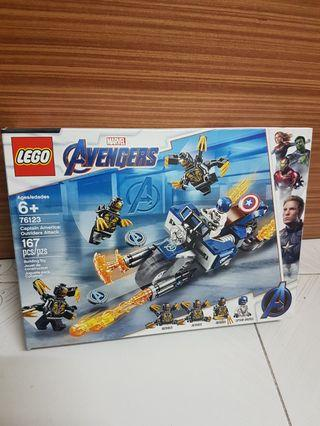 Lego 76123 Captain America Outriders attack