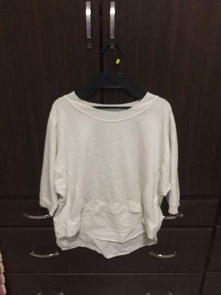 白色涼感T恤