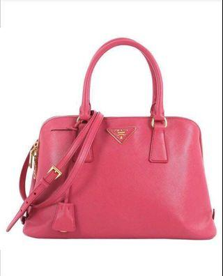 🚚 Pre❤️ Authentic Prada Promenade Handbag Saffiano Leather Medium