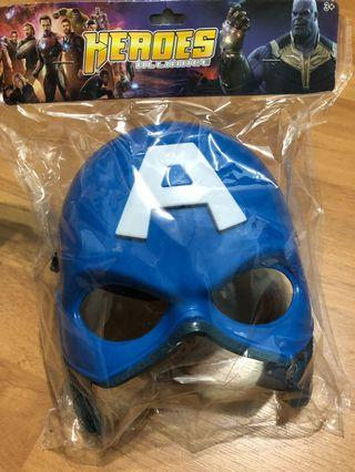 🚚 Captain America Mask for kids with light