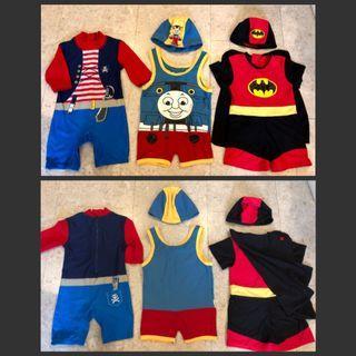 🚚 Preloved Children swimwear
