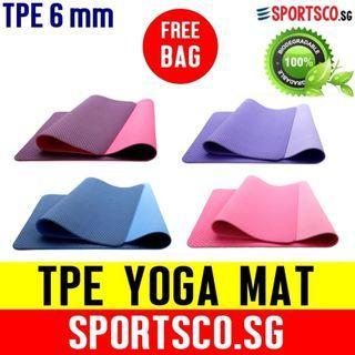 TPE Yoga Mat - Environmentally Friendly