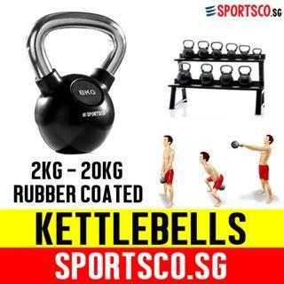 Rubber Coated Kettlebells