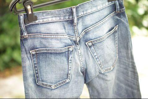 Uniqlo High rise boyfriend jeans