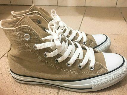 Converse日本🇯🇵限定奶茶色高筒帆布鞋