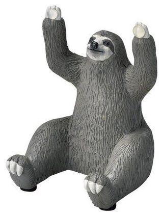 【ZOO FOR HOME 家飾部 】 動物雕像手機座 樹懶:寬5.5cm×高8cm 飛鼠:寬6cm×高7cm