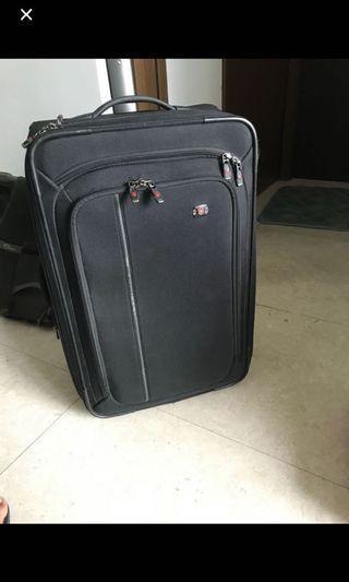 "Victorinox Werks 22"" carry-on luggage"