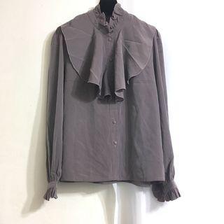 古著 vintage 襯衫 特殊材質 顏色