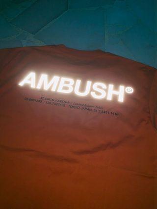 [Instock] Ambush XL Logo Tee