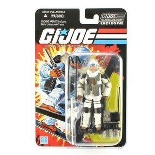 GI Joe Club Exclusive FSS 8.0 Blizzard