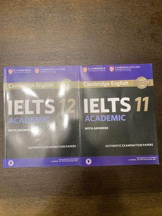 IELTS Cambridge 11、12(雅思 劍11、12)