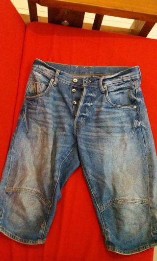 H&M Denim Jeans Short Pants #mauthr