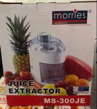 🚚 Morries Juice Extractor