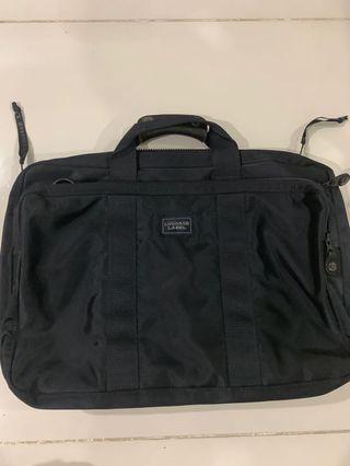 🚚 Luggage Label by Yoshida Porter briefcase