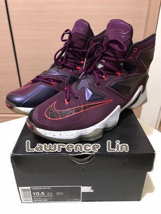 🚚 LEBRON XIII EP US10.5/28.5cm,公司貨訂價:$7200 九成新 鞋盒皆全