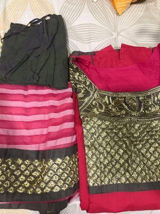🚚 Cotton anarkali/ Punjabi suit