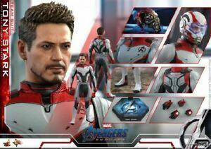 Hottoys Endgame Tony Stark(Team Suit) 量子服mms537訂單