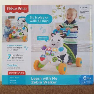 Fisher-Price® Learn With Me Zebra Walker (For 6 Months+ Baby - Infant To Toddler)