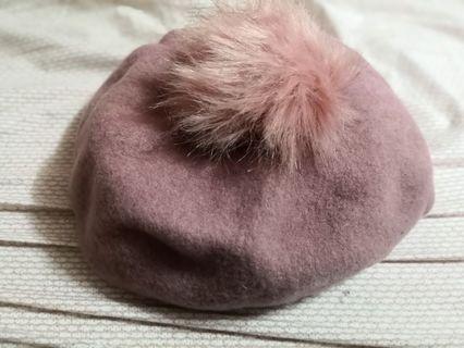 粉紅貝雷帽