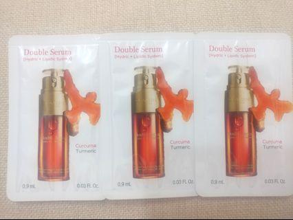 Clarins Double Serum 賦活雙精華 0.9ml x 3pcs