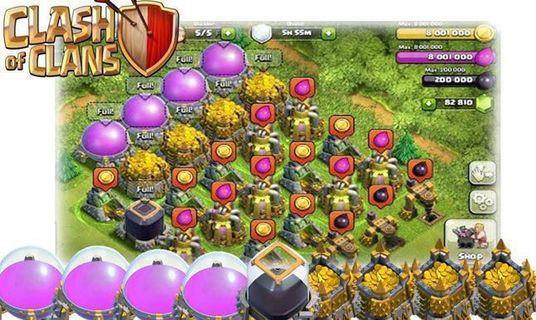 🚚 Clash of Clans Farming Service