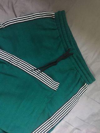 Flare Pants w Stripe