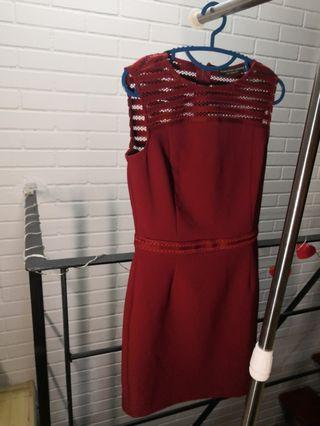 Red Dress Dorothy perkins