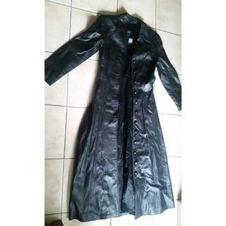 Women's Leather Duster Small