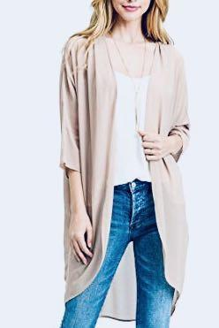 H&M Sheer Kimono Cover Up - Size S