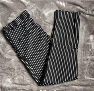 New H&M Slim Pinstripe Pants