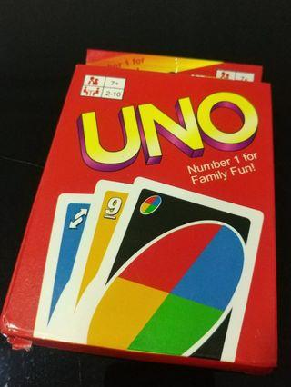 [Sales] Kids/ Family UNO Game Card