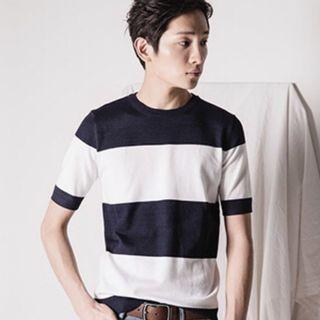 🚚 Natural Project Stripes Tee