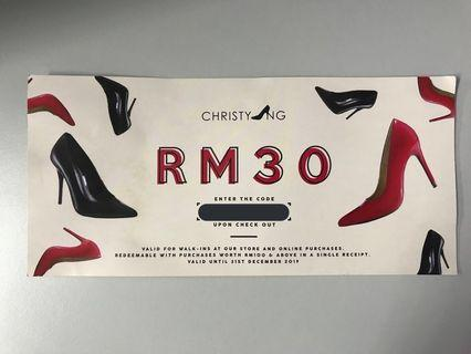 CHRISTY NG ONLINE VOUCHER
