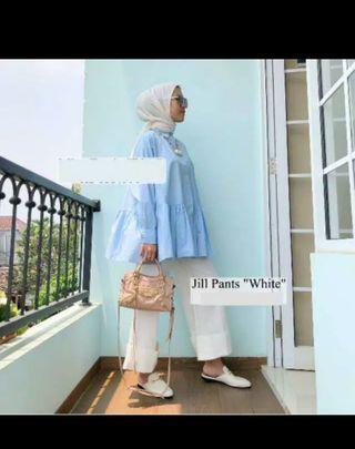 Jill pants white ISH