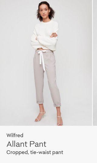 Aritzia Allant pants - grey