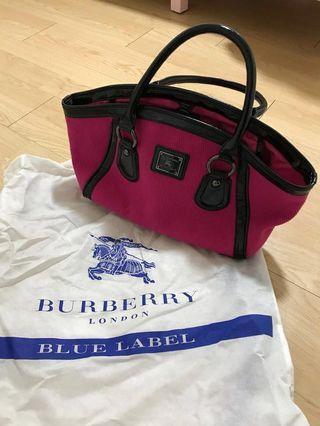 🚚 Punk Burberry blue bag